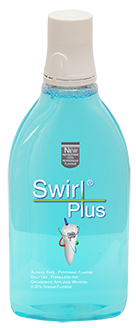 Swirl Plus Daily Fluoride Mouthrinse - 500ml